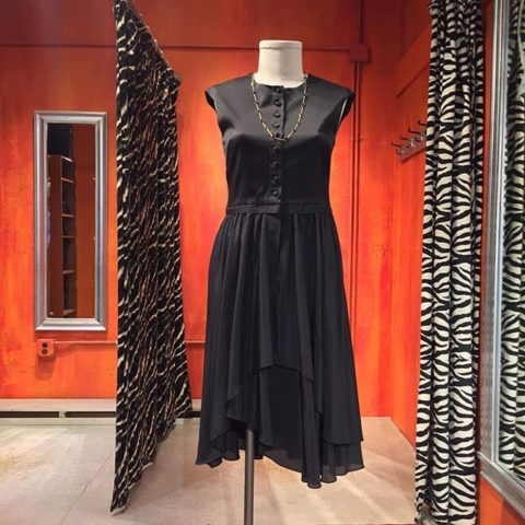 Charles & Victoria silk shirt dress. Size 8. Sale price $44.