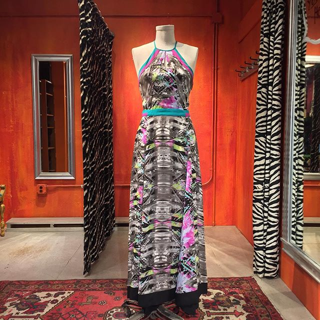 The Sumatra print silk maxi by Parker. Size Small. $169.