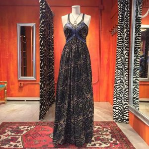 3.1 Phillip Lim dyed cotton maxi dress with lace trim. Size 4-6. $98.